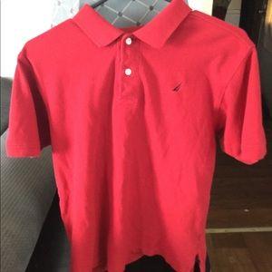 Boys XL Red Nautica Shirt